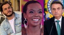 """Túlio Gadêlha cutuca Bolsonaro após vitória de Thelma: """"A casa caiu"""""""