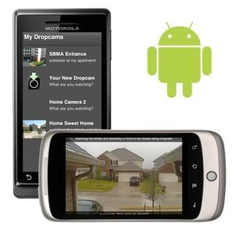 Dropcam app comes to Android, lets you monitor your security cameras from afar