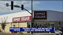 Family Dollar rejects Dollar General takeover offer