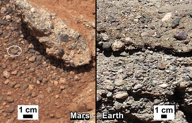 NASA's Curiosity rover finds ancient streambed on Mars, evidence of 'vigorous' water flow