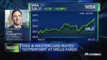 Visa, Mastercard rated outperform at Wells Fargo
