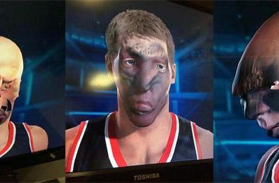 NBA 2K15's face scan feature unleashes monstrous b-baller horde