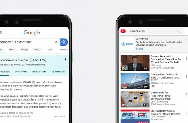 Google explains how it's tackling the coronavirus outbreak