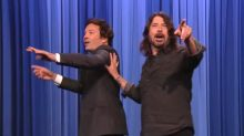 Dave Grohl hilariously takes over 'The Tonight Show' co-hosting with Jimmy Fallon