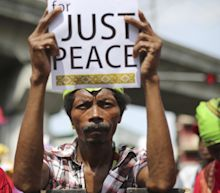 Filipino protesters want police in brutal dispersal punished