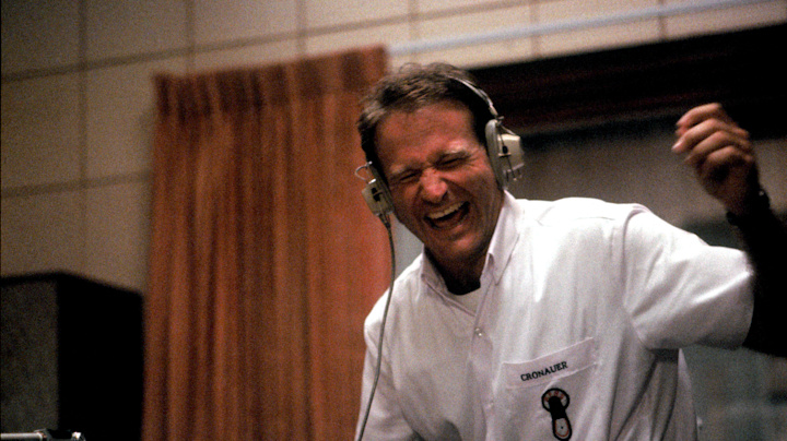 Why Robin Williams was 'struggling' during 'Good Morning, Vietnam'