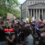 U.S. Sees Calmer Streets as Protests Remain Largely Peaceful