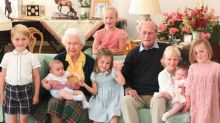 Prince Philip: Royal Family releases Kate's photo of Queen and duke with seven great-grandchildren