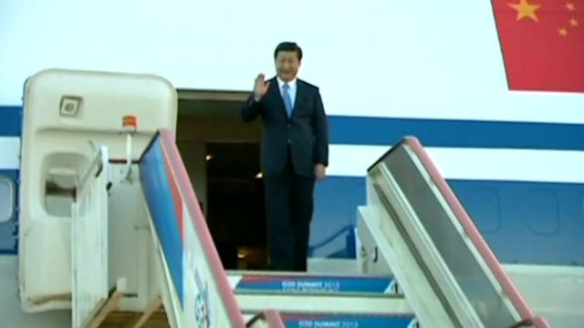 China's Xi arrives in Russia for G20 summit