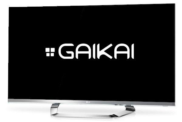 Gaikai partners with LG to power Smart TV gaming service