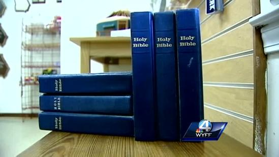 Bibles reinstated in Ga. state park lodges, cabins