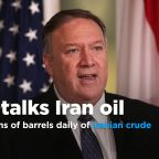 U.S. removed almost 2.7 million barrels daily of Iranian oil, according to Pompeo