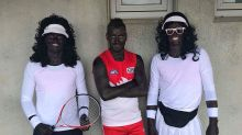Australian athletes under fire for wearing racist Serena and Venus Williams costumes and blackface makeup