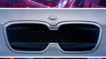 BMW iX3 electric crossover teased just head of 2018 Beijing Motor Show
