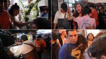 FOTOS | Dolor, llanto e impotencia al recibir los restos de la pequeña Fátima