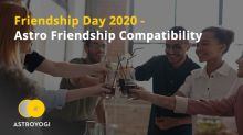 Friendship Day 2020 - Astro Friendship Compatibility