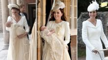 How Kate Middleton's outfits for all of her children's christenings compare