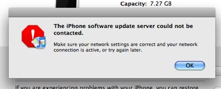 Updated firmware 1.1.3 is available for iPhone and iPod touch, sort of