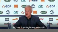 Paul Pogba left out of France squad after positive Covid-19 test: Deschamps