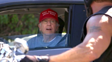Twitter reacts to Trump tweet of Larry David mocking Trump supporters