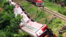 Cameroon train derails; at least 55 dead, hundreds injured