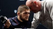 Khabib Nurmagomedov's message to UFC president Dana White has fans speculating on comeback