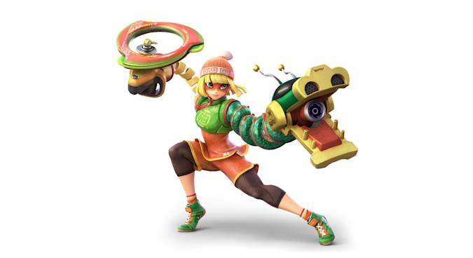 Min Min in Super Smash Bros. Ultimate