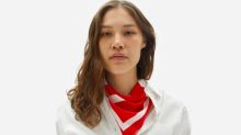 Everlane's new 100% silk bandana's give back to a good cause