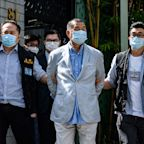 Outspoken Hong Kong billionaire Jimmy Lai sentenced to 14 months in prison for taking part in pro-democracy protests