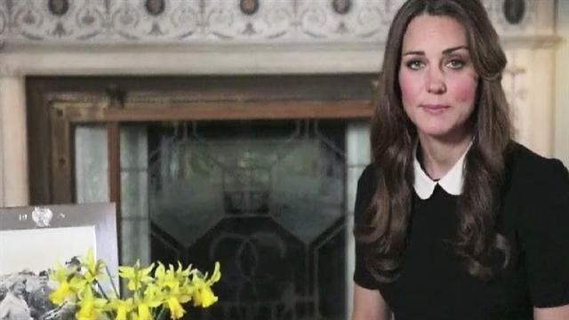Video message: Kate Middleton for children's hospices