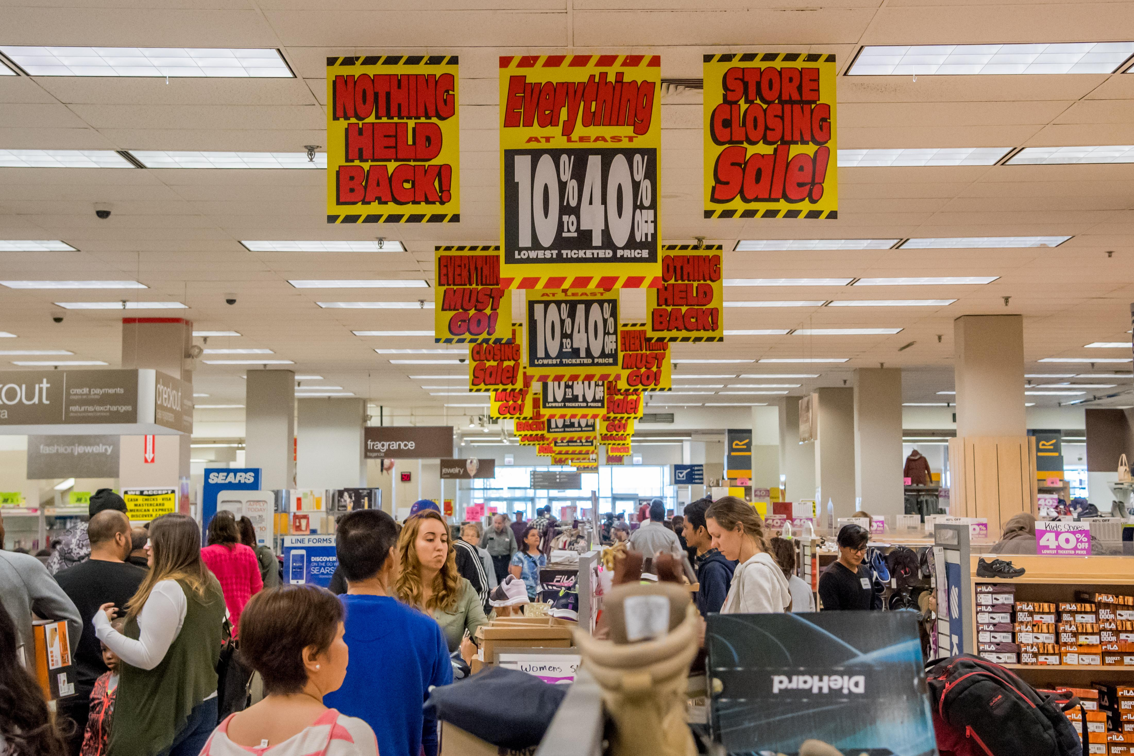 Which Sears Stores Are Closing? Here's the Full List as Sears Files for Bankruptcy