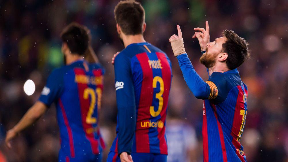 Messi, un millón de euros por gol
