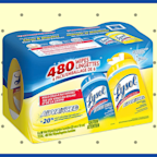 Lysol hand sanitizer, Lysol disinfecting wipes, and Lysol spray are back in stock at Amazon