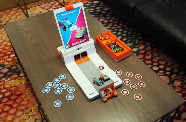 Osmo 'Mindracers' puts real Hot Wheels on crazy virtual tracks