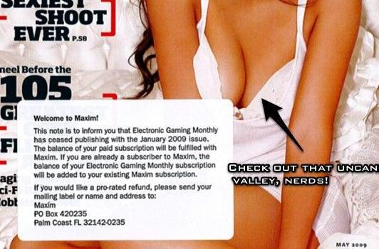 Here's your new issue of EGM! It's called Maxim