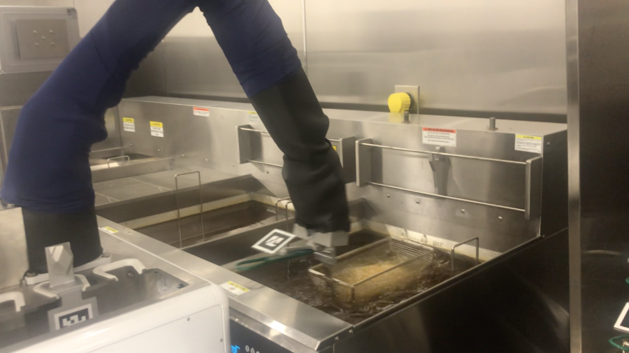 EXCLUSIVE: Walmart is testing a robot fry cook named 'Flippy' at its delis