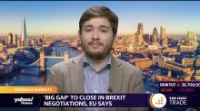 'Big gap' to close in Brexit negotiations, EU says