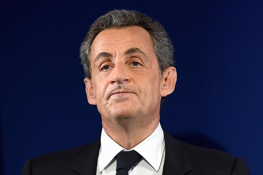 Former French president Nicolas Sarkozy (AFP Photo/Eric FEFERBERG)
