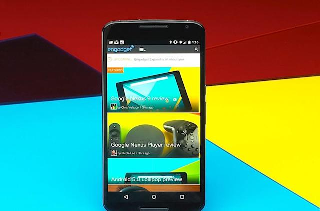 Nexus 6 review: Google shows it can make a big-screen phone