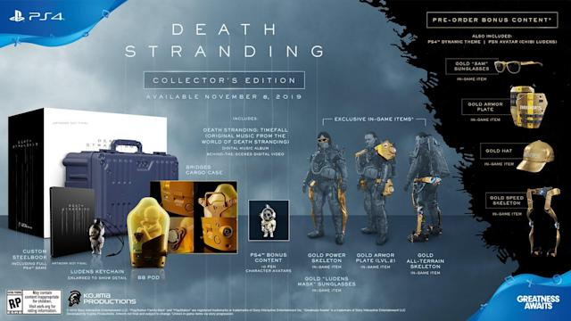 'Death Stranding' special edition comes with life-sized baby in a pod
