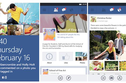 Facebook's Windows Phone beta updated to work on WP7 too