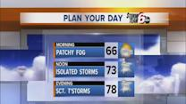 Friday's Forecast: Warm temps, cloudy skies