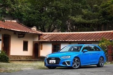 【試駕】這次我想來點有顏值和肚量的Audi A4 Avant 40 TSI S Line