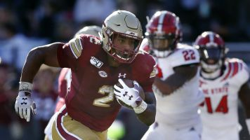 Dillon leaving Boston College to enter NFL draft