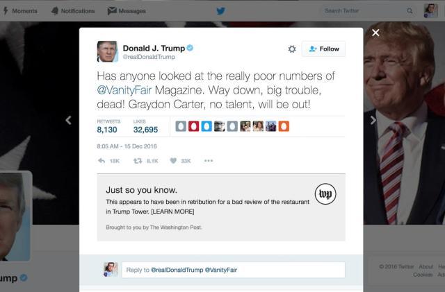 Fact-check Trump's next tweetstorm as it happens