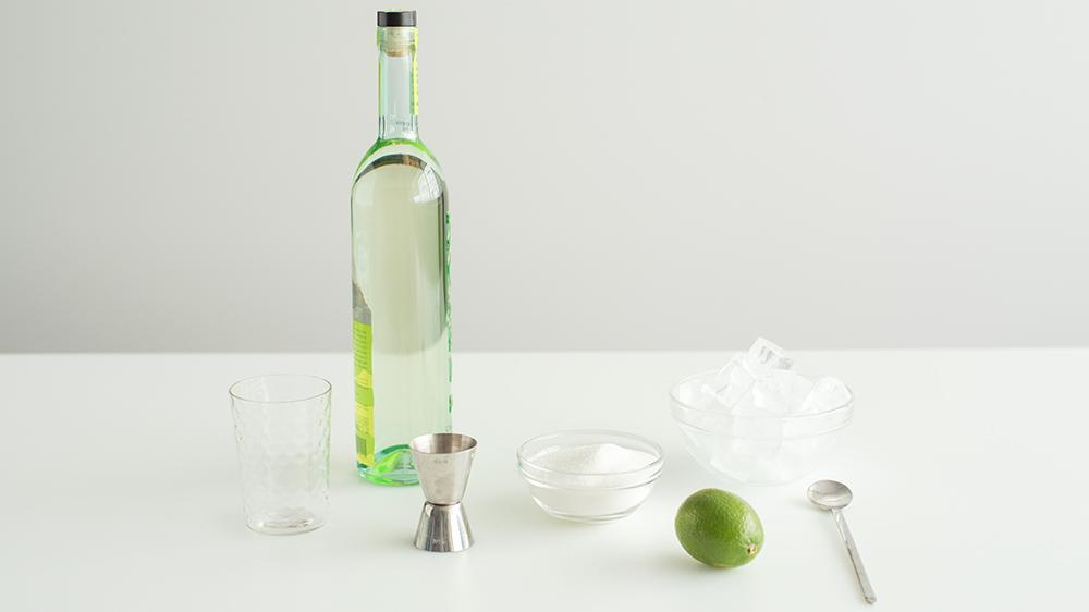"""<p>Brazilian cachaça is a sugarcane liquor like white rum's smoldering cousin. All it needs is sugar and lime to bring it to life. <a href=""""https://www.marthastewart.com/1008006/caipirinha"""" rel=""""nofollow noopener"""" target=""""_blank"""" data-ylk=""""slk:View recipe"""" class=""""link rapid-noclick-resp""""> View recipe </a></p>"""
