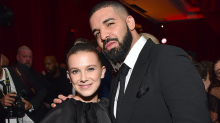 14-year-old Millie Bobby Brown and Drake, 31, text 'about boys' and the internet is horrified: 'This is called grooming'