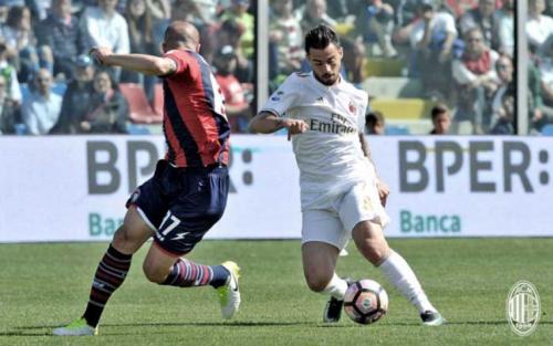 Milan só empata com frágil Crotone e fica distante de vaga na Liga Europa