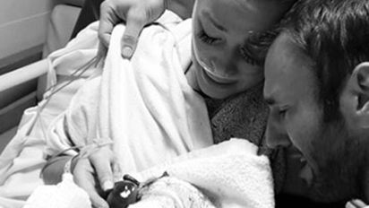 Reality star shares heartbreaking miscarriage photo