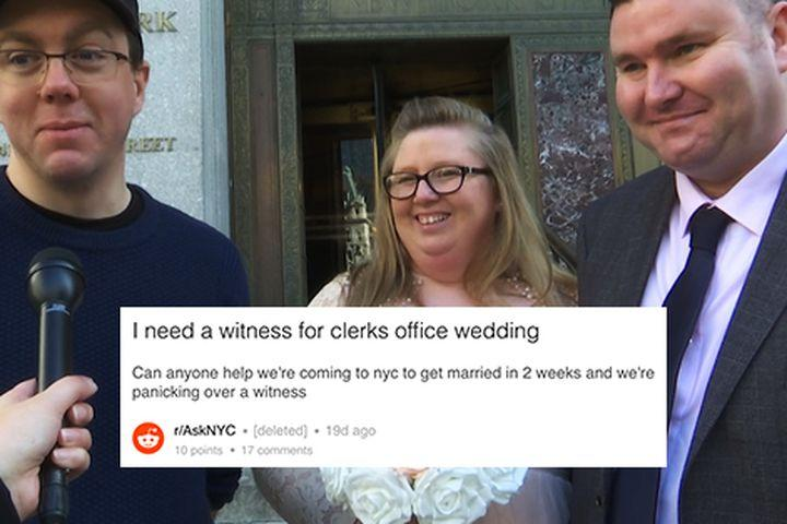 Couple in need pulls off wedding thanks to   Reddit?